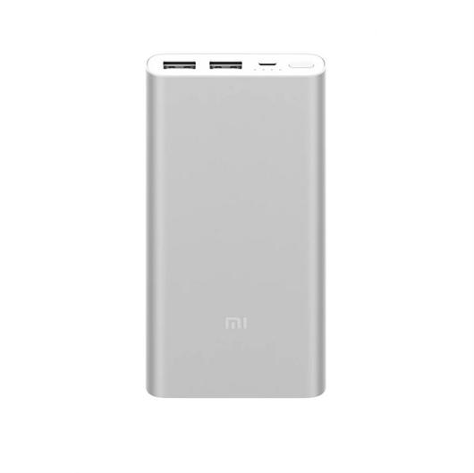 Prenosna baterija (powerbank) Xiaomi Mi 2S, 10.000 mAh, srebrna