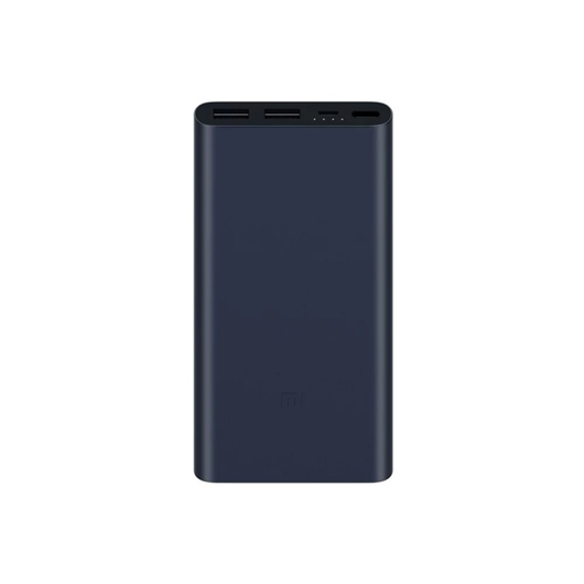 Prenosna baterija (powerbank) Xiaomi Mi 2S, 10.000 mAh, črno-modra