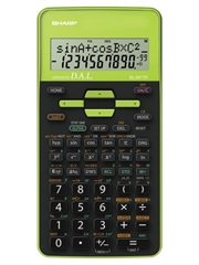 Tehnični kalkulator Sharp EL531THBGR, zelen