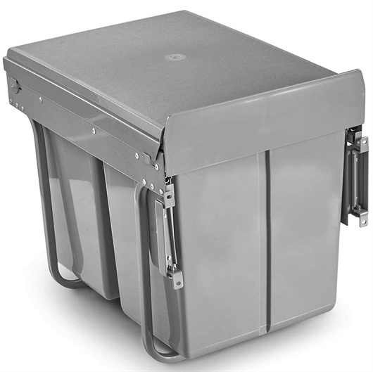 Koš za ločevanje odpadkov VonHaus, 40 L - vgradni