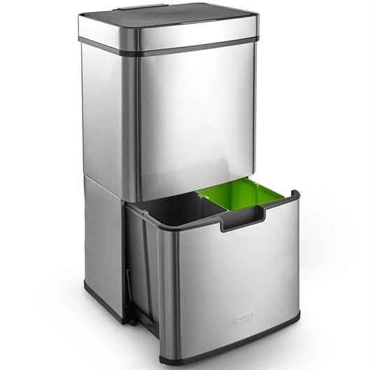 Koš za ločevanje odpadkov VonHaus, 72 L