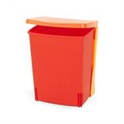 Koš za smeti Brabantia, 10 L - vgradni, rdeč