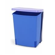 Koš za smeti Brabantia, 10 L - vgradni, moder
