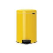 Koš za smeti Brabantia, 20 L, rumen
