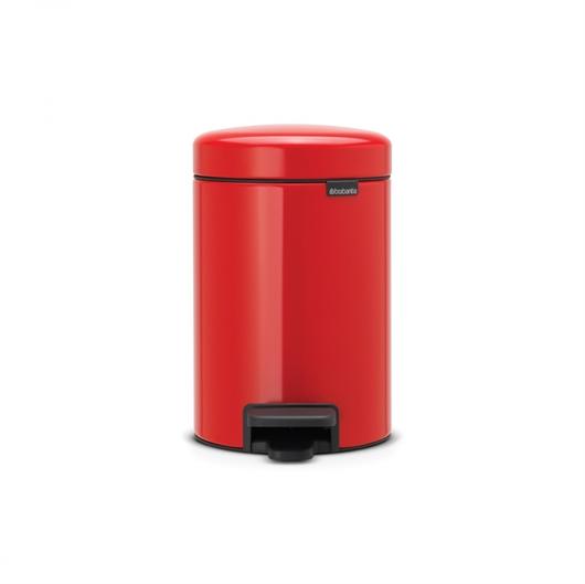 Koš za smeti Brabantia NewIcon, 3 L, rdeč