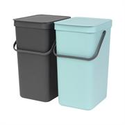 Koša za ločevanje odpadkov Brabantia, 2 x 16 L