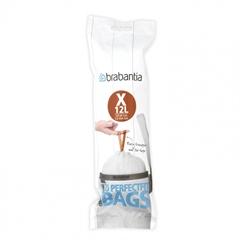 Plastične vreče za smeti, Brabantia PerfectFit X, 10-12 L, 20 kosov