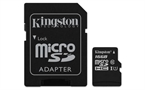 Spominska kartica Kingston Micro SDHC Canvas Select, 16 GB + SD adapter