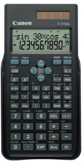 Tehnični kalkulator Canon F715SG, črn