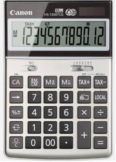 Kalkulator Canon HS-1200TCG