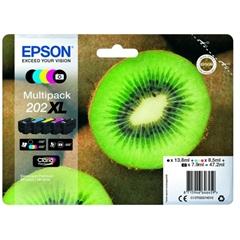 Komplet kartuš Epson 202 XL (C13T02G74010) (BK/PBK/C/M/Y), original