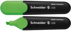 Marker Schneider Fluo Job, zelena