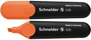 Marker Schneider Fluo Job, oranžna