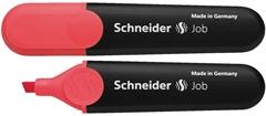 Marker Schneider Fluo Job, rdeča