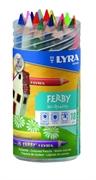 Barvice Lyra Ferby v lončku, 18 barvic