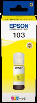 Črnilo Epson 103 (C13T00S44A) (rumena), original