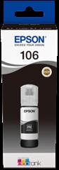 Črnilo Epson 106 (C13T00R140) (foto črna), original