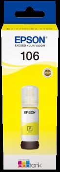 Črnilo Epson 106 (C13T00R440) (rumena), original