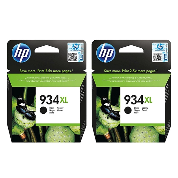 Kartuša HP C2P23AE nr.934XL (črna), dvojno pakiranje, original