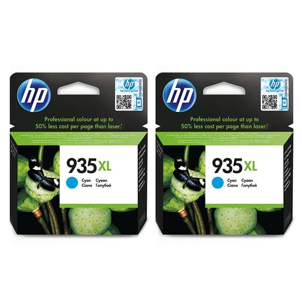 Kartuša HP C2P24AE nr.935XL (modra), dvojno pakiranje, original