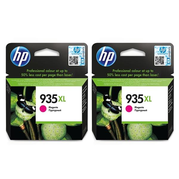 Kartuša HP C2P25AE nr.935XL (škrlatna), dvojno pakiranje, original
