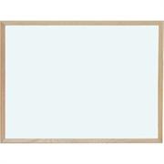 Magnetna tabla piši-briši Optima, 60 x 90 cm, lesen okvir