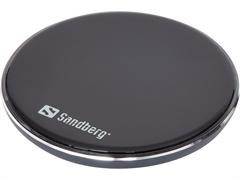 Brezžična polnilna postaja Sandberg QI 10W, aluminij