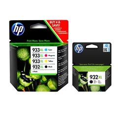 Komplet kartuš HP C2P42AE nr.932/933XL (BK/C/M/Y) + nr.932XL, original