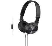 Naglavne slušalke Sony, žične, črna, MDRZX310APB