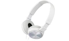 Naglavne slušalke Sony, žične, bela, MDRZX310APW