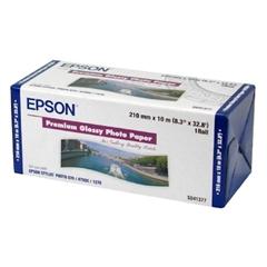 Papir Epson Premium glossy photo v roli, 210 mm x 10 m