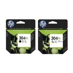 Komplet kartuš HP nr.304XL (BK + CMY), original
