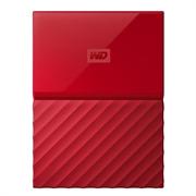 Zunanji prenosni disk WD My Passport, 1 TB, rdeča
