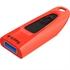 USB ključ SanDisk Ultra, 64 GB, rdeč
