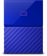 Zunanji prenosni disk WD My Passport, 2 TB, modra