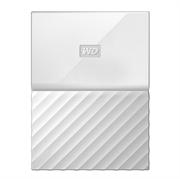 Zunanji prenosni disk WD My Passport, 4 TB, bela