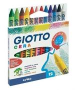 Voščene barvice Giotto Cera, 12 kosov