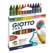 Voščene barvice Giotto Cera, 24 kosov