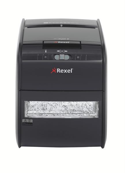 Uničevalnik dokumentov Rexel Auto+ 60X (4 x 45 mm), P-3, s podajalnikom
