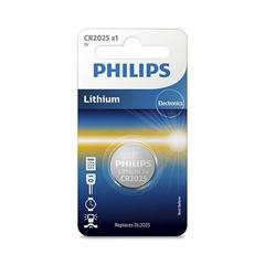 Baterija Philips CR2025, 3V, 1 kos