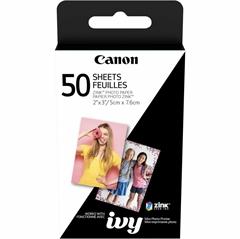 Foto papir Canon ZINK, 50 listov (5 x 7,6 cm)