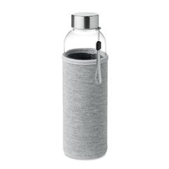 Steklenica Glass za vodo, 500 ml, siva