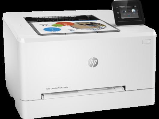 Poškodovana embalaža: tiskalnik HP Color LaserJet Pro M254dw