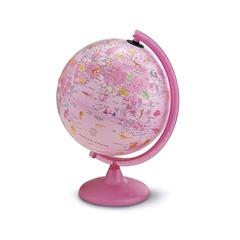 Globus Pink Zoo, 25 cm, z lučko, angleški