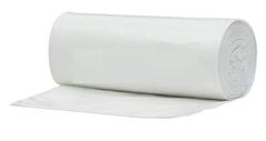 Plastične vreče za smeti, biorazgradljive, prozorne, 25 l, 15 kosov