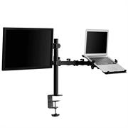 Namizni nosilec za monitor in prenosnik VonHaus, dvojni