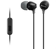 Slušalke Sony za Android/iPhone, žične, črna, MDREX15AP