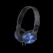 Naglavne slušalke Sony, žične, modra, MDRZX310APL