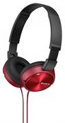 Naglavne slušalke Sony, žične, rdeče, MDRZX310R