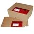 Žepki za dokumente (240 x 180 mm), rdeča, 1.000 kosov